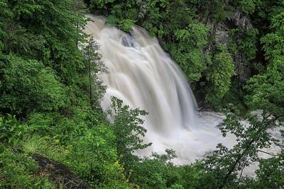 Photograph - Third Falls On Toxaway Creek by Chris Berrier