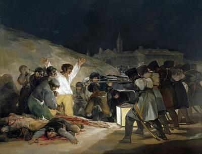 Painting - Third Of May by Francisco Goya