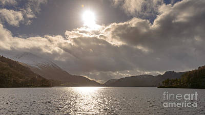 Contre-jour Photograph - Thirlmere Contre Jour by Richard Thomas