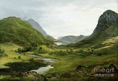 Fresh Water Painting - Thirlmere by John Glover