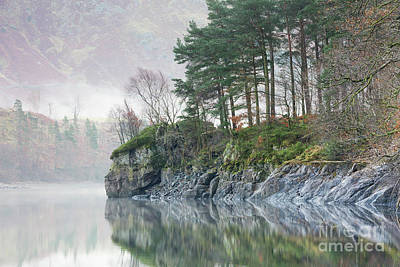 Thirlmere Outcrop Art Print by Tony Higginson