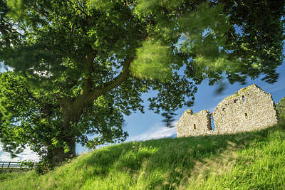 Border Reivers Photograph - Thirlwall Castle by David Taylor