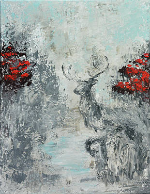 Painting - Thirst Like The Deer by Nicola Jeanette Cochran