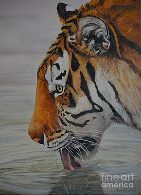 Painting - Thirsty by Charlotte Yealey