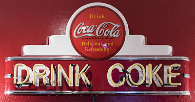 Coca-cola Signs Photograph - Thirsty? by Jon Berghoff