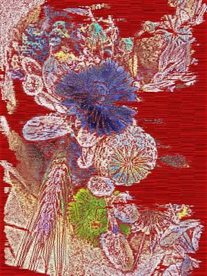 Floral Arrangement Digital Art - Thirsty by Tim Allen