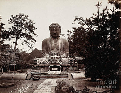 Thirteenth-century Buddha, Kamakura Art Print by Wellcome Images