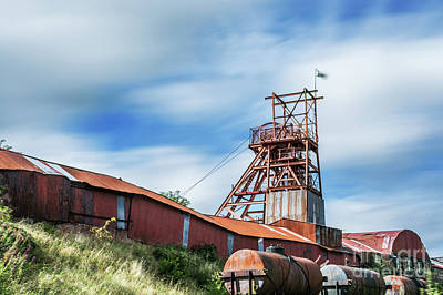 Photograph - Thirty Seconds At Big Pit by Steve Purnell