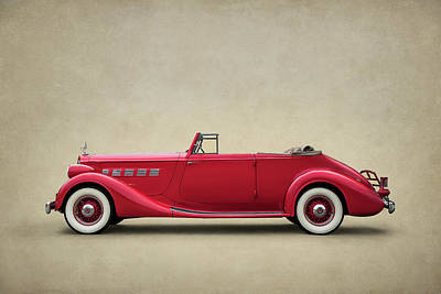 Digital Art - Thirty-six Packard by Douglas Pittman