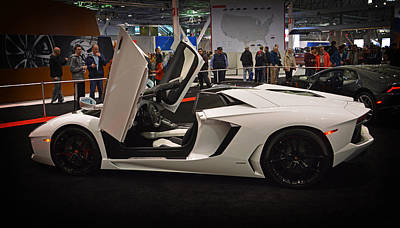 Photograph - This 2014 Lamborghini Aventador... by Mike Martin