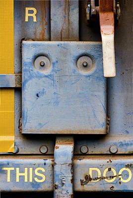 Train Art Photograph - This Doo by Carol Leigh