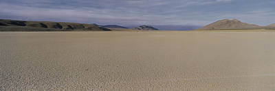 This Is A Dry Lake Pattern Art Print by Panoramic Images
