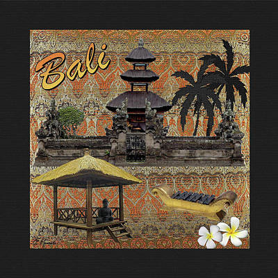 Mixed Media - This Is Bali 2 by Ellen Henneke