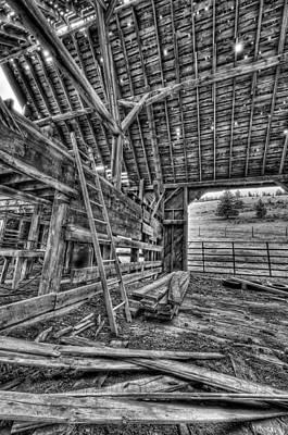 This Is British Columbia No.33 - Old Okanagon Barn Original