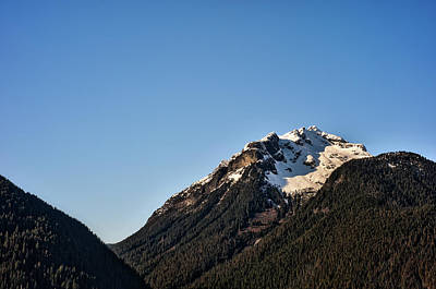 This Is British Columbia No.46 - Snow Capped Mountain Original by Paul W Sharpe Aka Wizard of Wonders