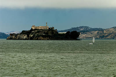 This Is California 7 - Escaping From Alcatraz Art Print
