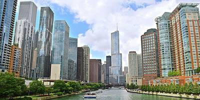 Photograph - This Is Chicago by Frozen in Time Fine Art Photography