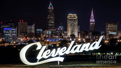 This Is Cleveland Upper Edgewater Art Print by Frank Cramer