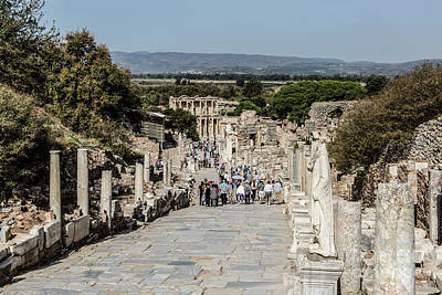 Photograph - This Is Ephesus by Kathy McClure