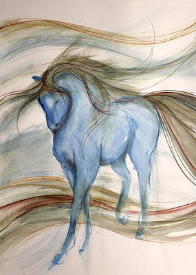 Sporthorse Mixed Media - This Is It by Jennifer Fosgate