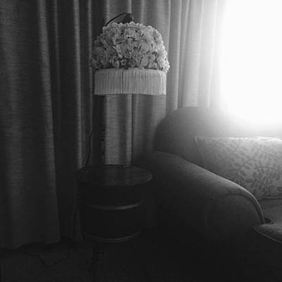 Decorative Photograph - A Lamp Stand For My Memories by Gabrielle Coleman