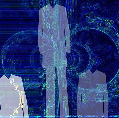 Michael Jackson Digital Art - This Is Not It 2 by Fania Simon