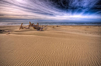 This Is Oregon State No.17 - Florence Beach Art Print by Paul W Sharpe Aka Wizard of Wonders