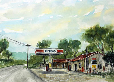 Leipers Fork Painting - This Is Pott's Place by Tim Ross