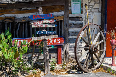 Photograph - This Is Texas by Ed Gleichman