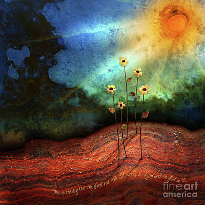 Mixed Media - This Is The Day by Shevon Johnson