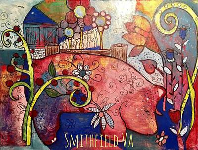 Smithfield Painting - This Is The Life by Myeco Visions