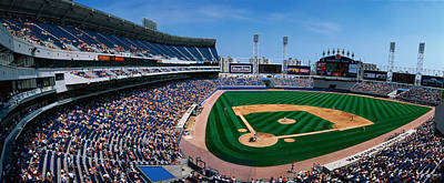 This Is The New Comiskey Park Stadium Art Print by Panoramic Images