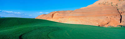 This Is The Page Municipal Golf Course Art Print by Panoramic Images
