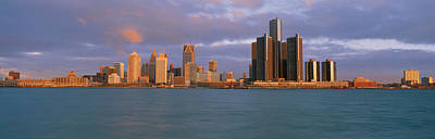 Renaissance Center Photograph - This Is The Skyline And Renaissance by Panoramic Images
