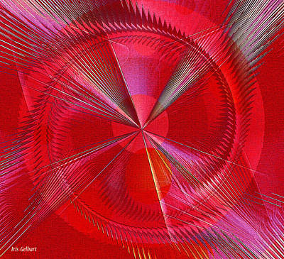 Digital Art - This Is The Way To Go by Iris Gelbart