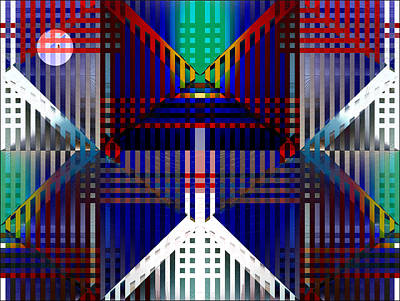 Digital Art - This Is Where The Bird Is by Gillian Owen