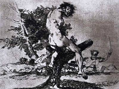 Painting - This Is Worse 1815 by Goya Francisco
