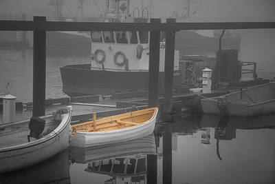 Vintage Automobiles - This Little Boat by Peter Scott