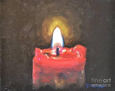 This Little Light Of Mine Art Print by Lori Pittenger