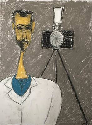 Pastel - This Man That Man Ray by Mario Perron