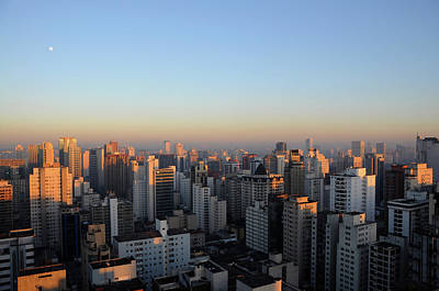 Sao Paulo Photograph - This Morning's First Lights by Alceu Baptistão