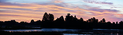 Photograph - This Mornings Sunrise - Panoramic by rd Erickson