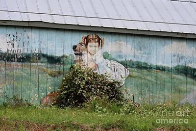 Photograph - This Old Barn 2 by Ella Kaye Dickey
