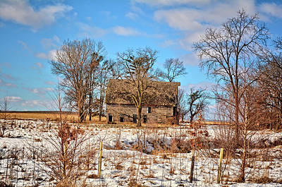 Photograph - This Old Barn by Bonfire Photography