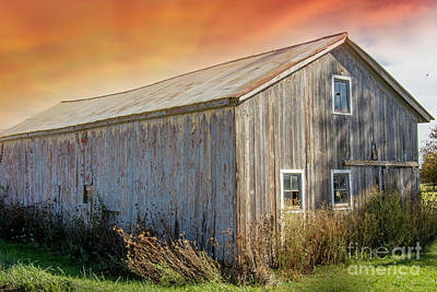 Photograph - This Old Barn by Danielle Allard