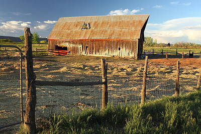 Photograph - This Old Barn by Eric Glaser