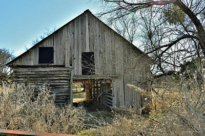 Photograph - This Old Barn by Robert Brown