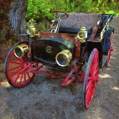Photograph - This Old Car by Thom Zehrfeld