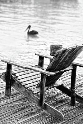 Photograph - This Old Chair by Lee Vanderwalker