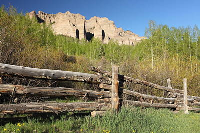 Blue Mesa Reservoir Photograph - This Old Fence by Eric Glaser